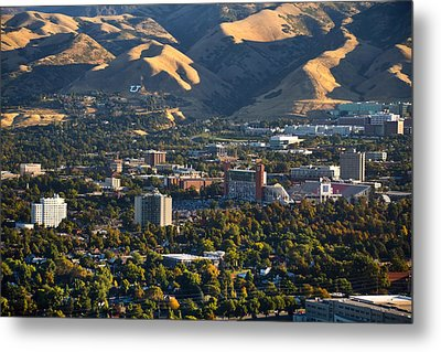University Of Utah Campus Metal Print by Utah Images