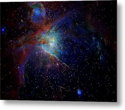 Unknown Distant Worlds Metal Print
