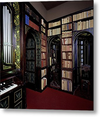 Unknown, Vittoriale Room Of The Lily Metal Print by Everett