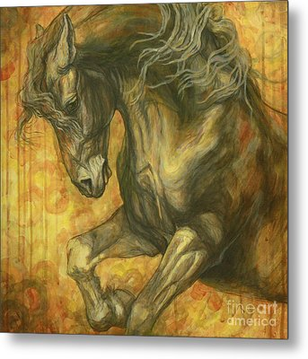 Unleashed Metal Print by Silvana Gabudean Dobre