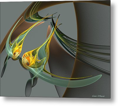 Fin And Wings Metal Print