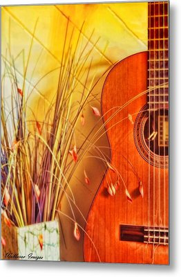 Metal Print featuring the photograph Unplayed Melody by Wallaroo Images