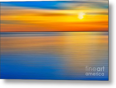 Unseen Sunset - A Tranquil Moments Landscape Metal Print by Dan Carmichael