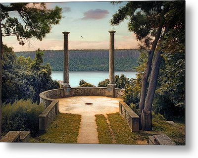 Untermyer Vista Metal Print by Jessica Jenney