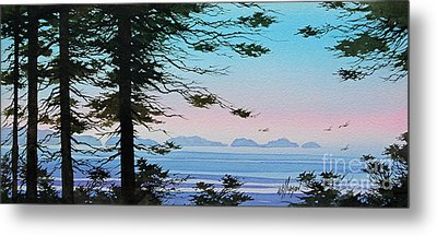 Until I Saw The Shore Metal Print by James Williamson