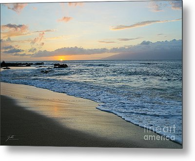 Metal Print featuring the photograph Until Tomorrow by Suzette Kallen