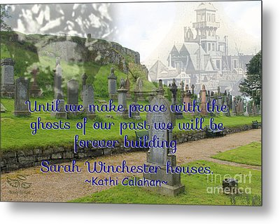 Until We Make Peace Metal Print