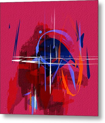 Metal Print featuring the digital art Untitled 30 by Andrew Penman