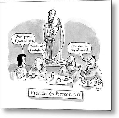 New Yorker June 11th, 2007 Metal Print