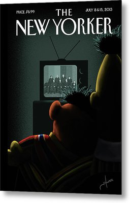 New Yorker July 8th, 2013 Metal Print