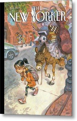 New Yorker September 13th, 2010 Metal Print by Peter de Seve