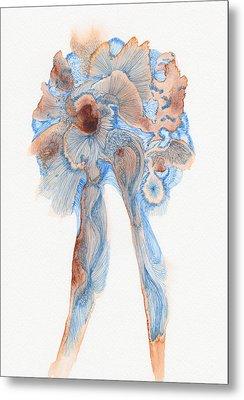 Untitled - #ss14dw003 Metal Print by Satomi Sugimoto