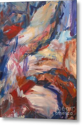Metal Print featuring the painting Untitled V by Fereshteh Stoecklein