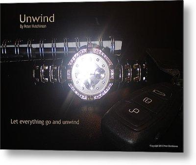 Unwind - Let Go Metal Print