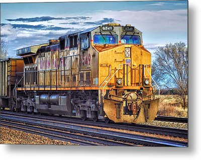 Metal Print featuring the photograph Up 6549 by Bill Kesler