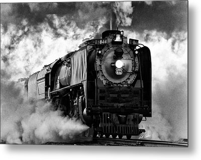 Metal Print featuring the photograph Up 844 Steaming It Up by Bill Kesler