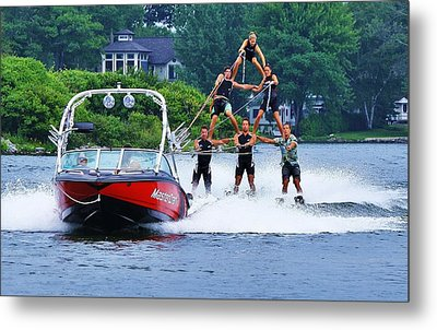 Metal Print featuring the photograph Up And Away... by Al Fritz