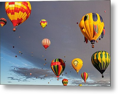 Up And Away Metal Print by Dave Files