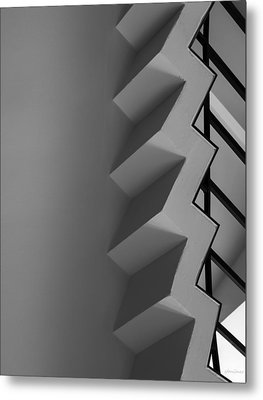 Metal Print featuring the photograph Up And Down - Abstract by Steven Milner