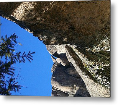 Metal Print featuring the photograph Up Around The Curve by Jewel Hengen