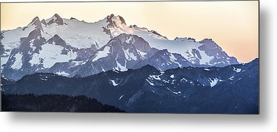 Up In The Mountains Metal Print by Jon Glaser