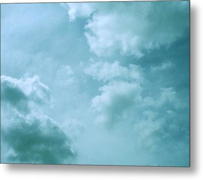 Up Into The Heavens Metal Print by Mary Wolf
