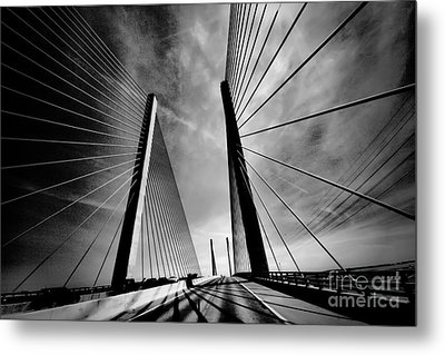 Metal Print featuring the photograph Up N Over by Robert McCubbin