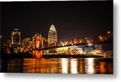 Up River Metal Print by Cathy Donohoue