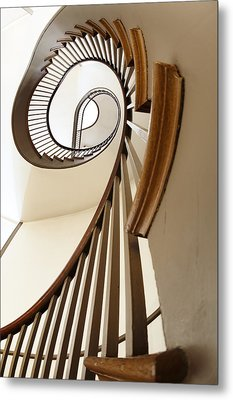 Up Stairs Metal Print by Alexey Stiop