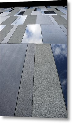 Up The Wall Metal Print