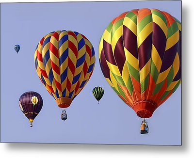 Up Up And Away Metal Print by Marcia Colelli