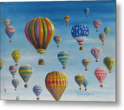 Up Up And Away Metal Print by Oz Freedgood