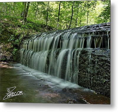 Upper Falls At Stillhouse Hollow Metal Print