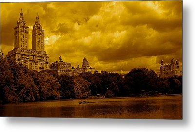 Upper West Side And Central Park Metal Print by Monique Wegmueller