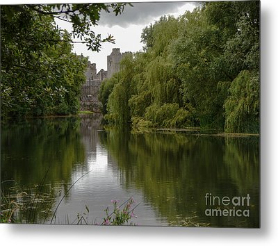 Upriver From Cahir Castle Metal Print