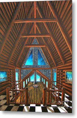 Upstairs Dream Metal Print by Steven Lebron Langston