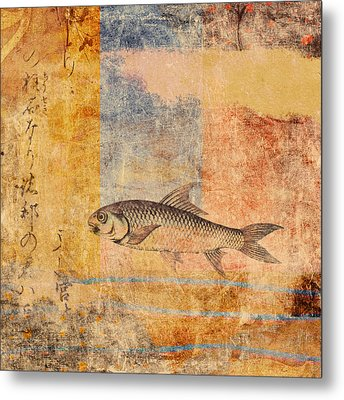 Upstream Metal Print by Carol Leigh