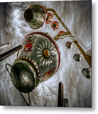 Upwardly Mobile Metal Print by Wayne Sherriff