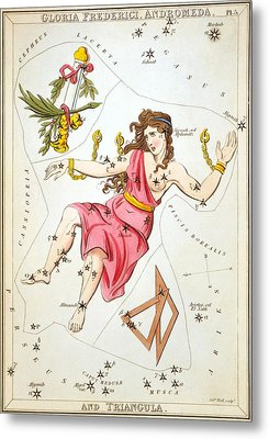 Gloria Frederici Andromeda Metal Print by Celestial Images