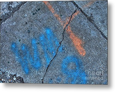 Urban Abstract 3 Metal Print by Jim Wright