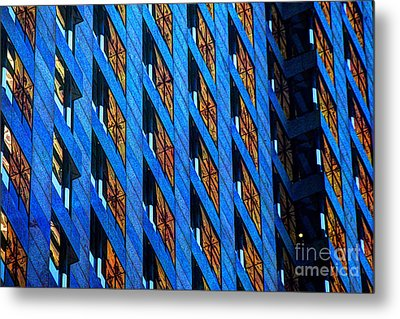 Urban Abstract 4 Metal Print by Jim Wright
