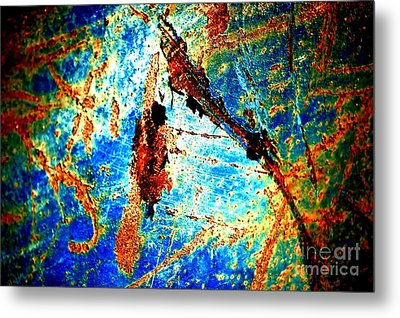 Metal Print featuring the photograph Urban Abstract by Christiane Hellner-OBrien