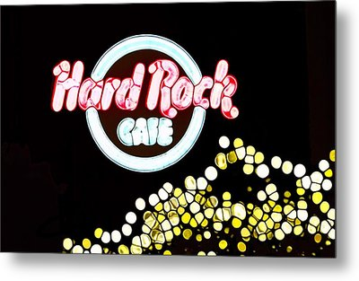 Urban Abstract Hard Rock Cafe Metal Print by Dan Sproul