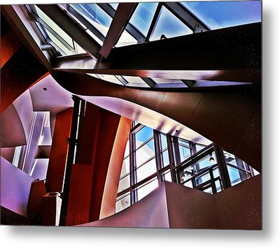 Urban Abstraction Metal Print by Mark David Gerson