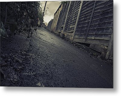 Metal Print featuring the photograph Urban Alley  by Stewart Scott