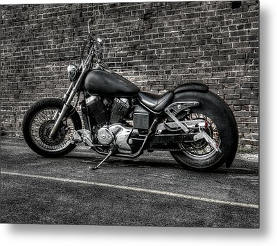 Urban Bike 001 Metal Print by Lance Vaughn