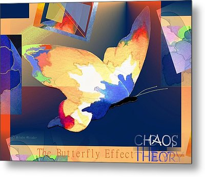 The Butterfly Effect Metal Print