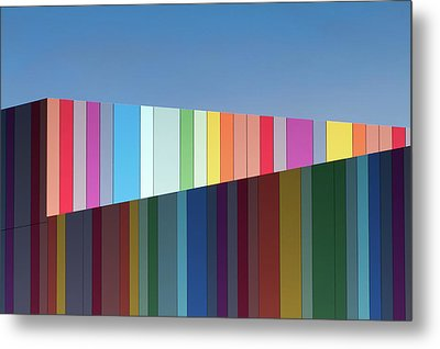 Urban Candy Metal Print by Gregory Evans