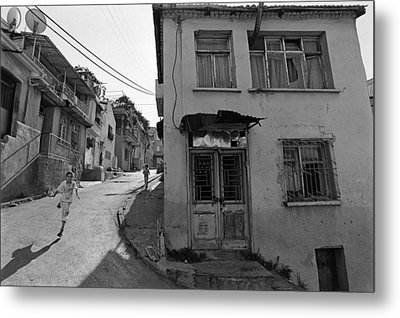 Urban Decay And Children Metal Print by Ilker Goksen