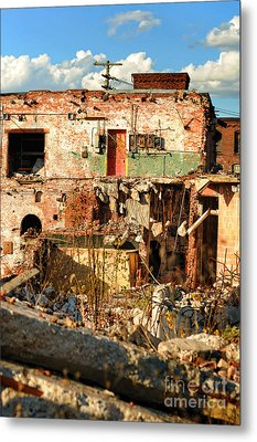 Urban Decay Metal Print by HD Connelly